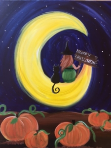 New Event - Halloween Moon. Ages 7+