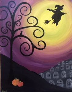 New Event - Witchy Whimsy. Ages 7+