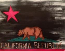 New Event - Cali Republic. Ages 7+. Choose background color!