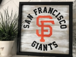 New Event - Wood Sign. Customize for your team!