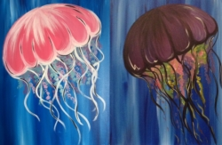 New Event - Jellyfish. Choose colors! Ages 7+