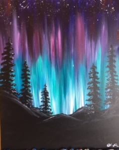 New Event - Northern Lights. You choose colors!