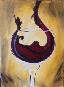 New Event - The Perfect Pour! Paint the bottle or glass.....or come as a couple and each paint half!