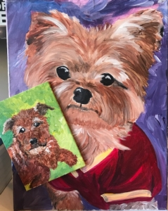New Event - Mans Best Friend class! Paint YOUR furry friend with us!