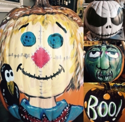 New Event - PYOP. Paint your own Pumpkin! We'll provide ideas and inspiration- you provide the pumpkin. Drink included!* Come in anytime