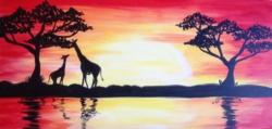 New Event - Sunset Safari. You choose elephants, lions or giraffes!*