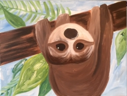 New Event - New Painting! Hangin' Around. Ages 7+