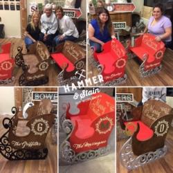 New Event - Hammer and Stain DIY Workshop Santa Sleigh