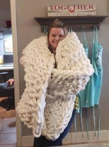 New Event - Hunterdon Creekside Cozy Knit Blanket Workshop