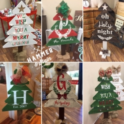 New Event - Hammer and Stain DIY Holiday Selections Your Choice
