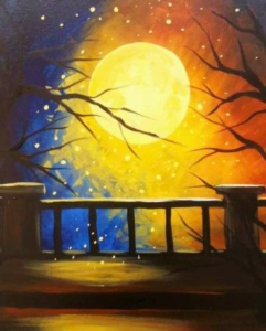 New Event - Offsite:Painting Under the Stars Hunterdon Medical Center Instructor Eileen/Mare