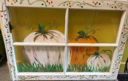 New Event - Fall Window Art