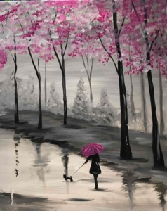 New Event - Walk in the Rain Instructor: Eileen