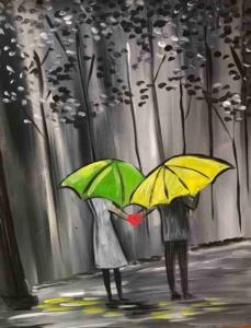 New Event - Walk in the Rain