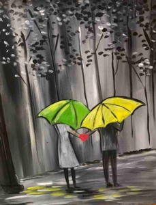 New Event - Walk in the Rain Instructor: Tina