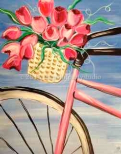 New Event - Floral Bike Instructor: Tina