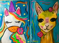 New Event - Family Class Lama or Unicorn