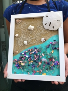 New Event - Sea Glass Collage Class