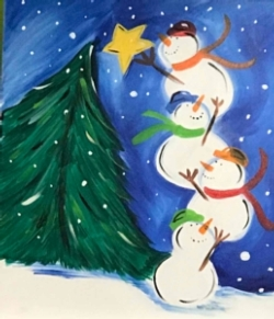 New Event - All Ages Welcome Snowman Party
