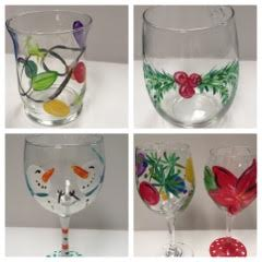 New Event - Holiday Paint on Wine Glasses