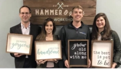 New Event - Couples Night Hammer and Stain DIY