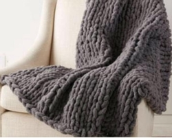 New Event - NEW CLASS! Cozy Hand Knit Throw Blankets Instructor: Eileen