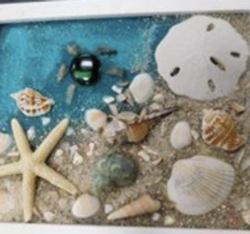New Event - Sea Glass Collage All ages Instructor: Eileen