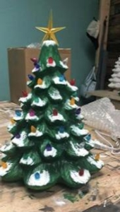 New Event - 13 Inch or 18 Inch Ceramic Christmas Trees
