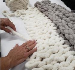 New Event - Cozy Blanket Workshop Instructor: Eileen