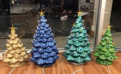 New Event - Vintage Holiday Trees 13 inch or 18 inch Instructor: Eileen/Mare