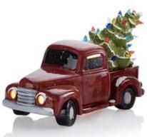 New Event - Ceramic Christmas Vintage Truck