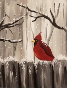 New Event - Winter Cardinal