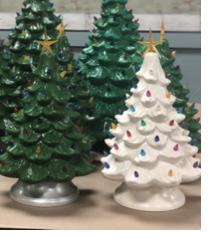 New Event - Ceramic vintage Trees and trucks Instructor:Mare