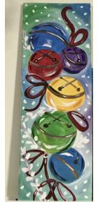 New Event - New Painting Jingle Bells 10 x 30