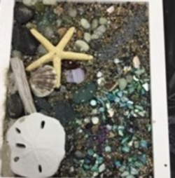 New Event - Sea Glass Collage Instructor: Eileen