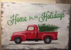 New Event - Paint on Wood Christmas Truck