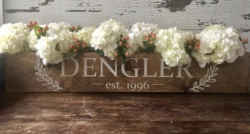 New Event - Hammer and Stain DIY Workshop: Centerpiece Boxes