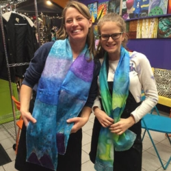New Event - Silk Scarf Painting