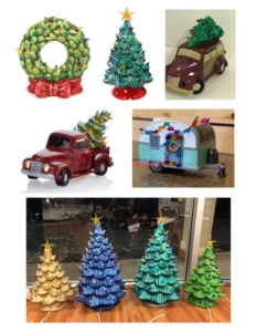 New Event - Ceramic Vintage Trees