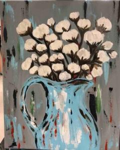 New Event - Cotton Vase