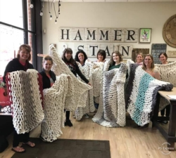 New Event - Whitney and Alyssa's DIY Cozy Knit Blanket Private Party
