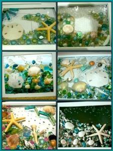 New Event - Sea Glass Collage