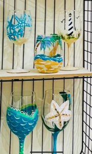 New Event - Hunterdon Creekside Wine Glass Painting Party
