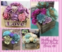 MOTHERS DAY TAKE HOME - Wood Flower Kits [click to enlarge]