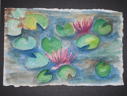 Art for Sale - Water Lilies [click to enlarge]