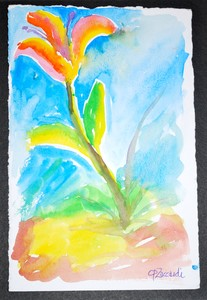 Art for Sale - Blooming Flower [click to enlarge]