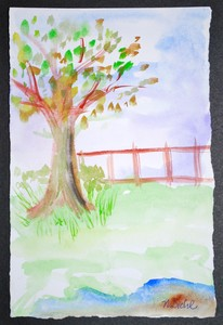 Art for Sale - Tree by the Water I