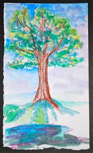 Art for Sale - Tree by the Water II