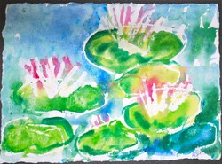 Art for Sale - Water Lilies II