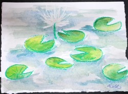 Art for Sale - Water Lilies III